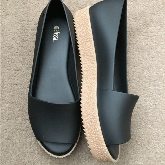 6f05c967292d Melissa peep toe platform shoe